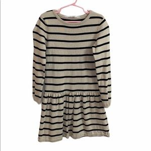 H&M Stripe Dress Minimalist Size 6-8